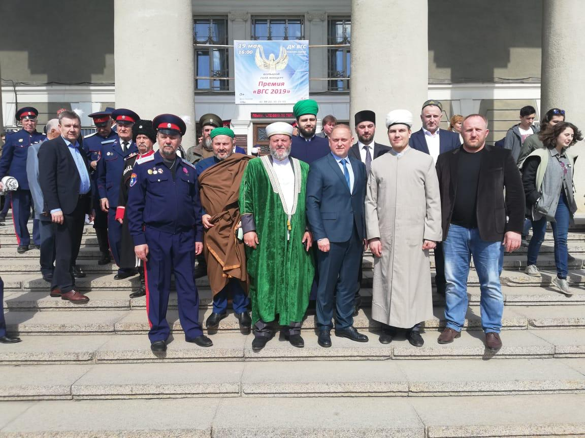 THE DELEGATION FROM SAMR TOOK PART IN THE SCIENTIFIC-PRACTICAL ETHNOCONFESSIONAL CONFERENCE IN VOLZHSKIY