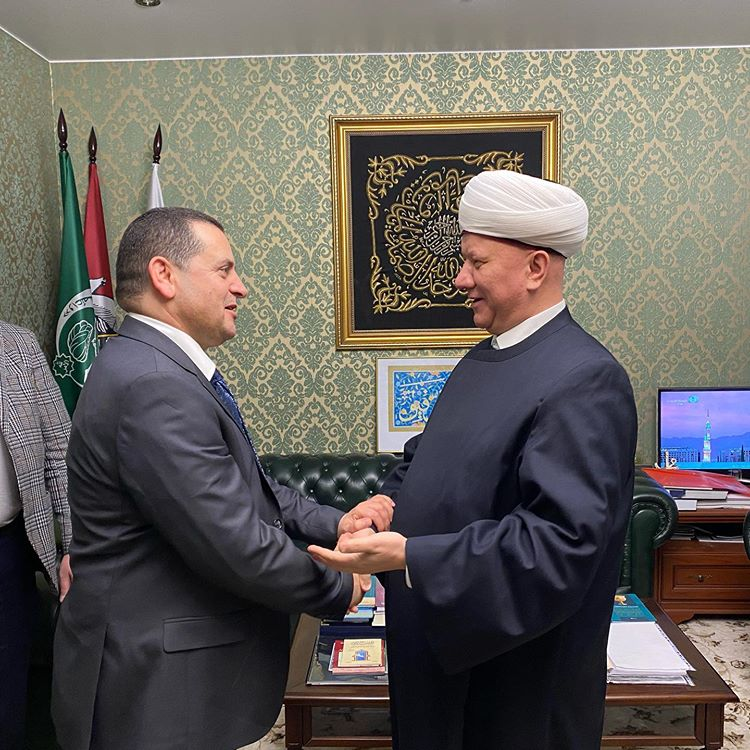 RUSSIAN MUSLIMS ASSEMBLY TO COOPERATE WITH LIBYA