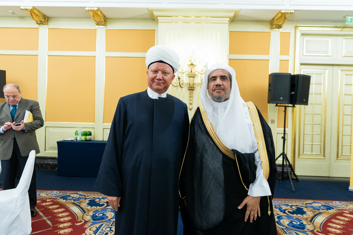 Muslim World League chief was awarded an honorary doctorate by the Institute of Oriental Studies of the Russian Academy of Sciences