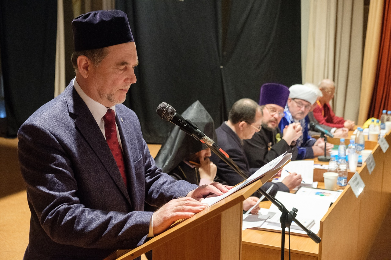 INTERNATIONAL RELIGIOUS CONFERENCE WAS HELD IN SAINT PETERSBURG