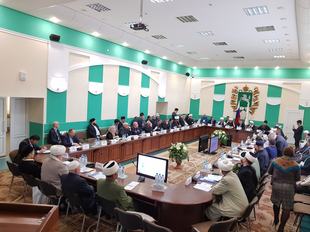 Delegation from Spiritual Assembly of Muslims of Russia took part in Inter-Regional Conference in Tomsk