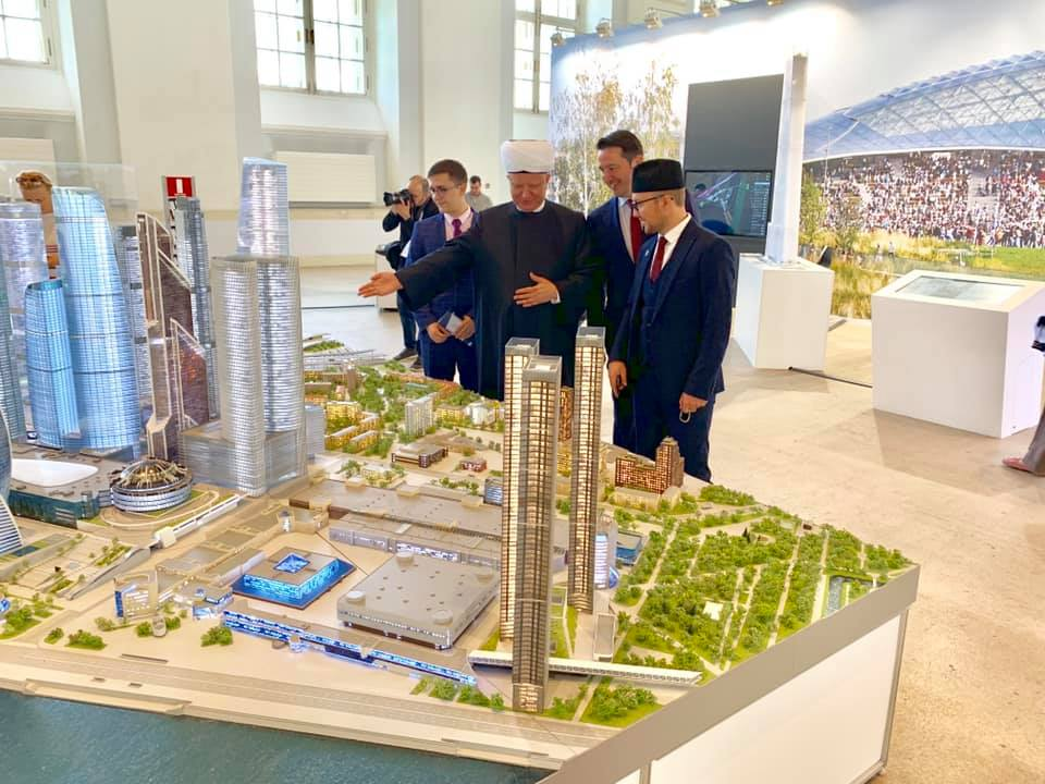 Delegation from SAMR took part in the International Moscow Urban Forum