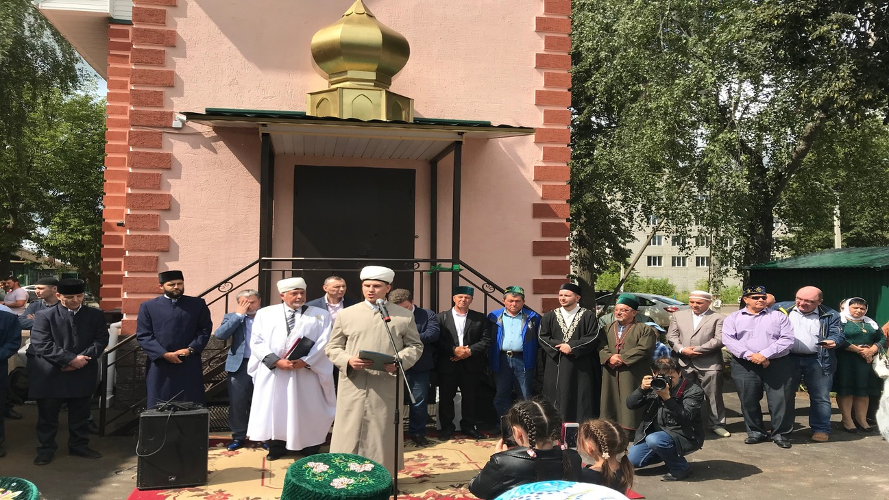 The grand opening of the mosque in Kovrov
