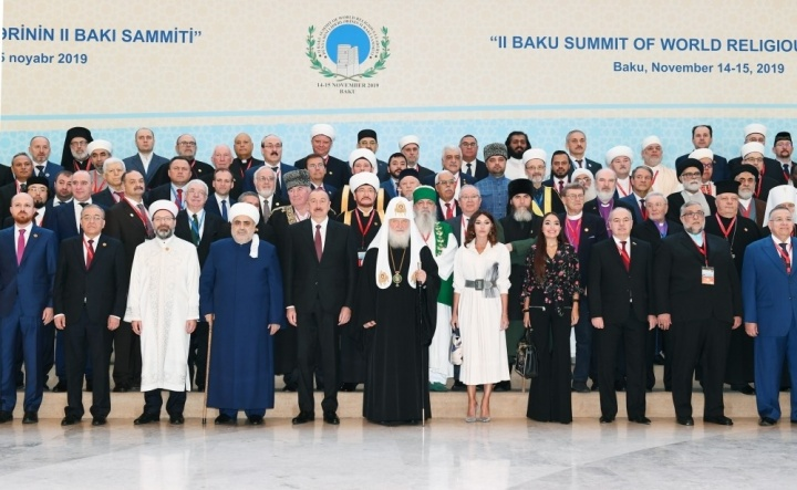 Mufty of SAMR take part in the II Baku Summit of Religious Leaders of the World