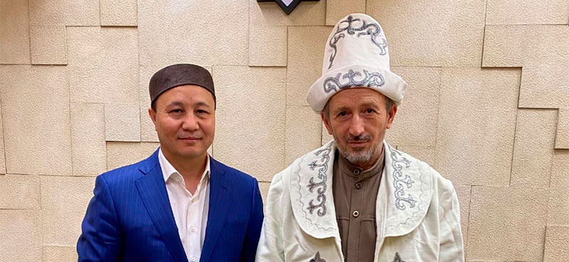 MUFTI OF DAGESTAN MET WITH MUFTI OF TOMSK REGION